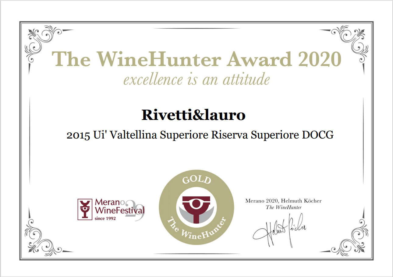 The Wine Hunter Award 2020