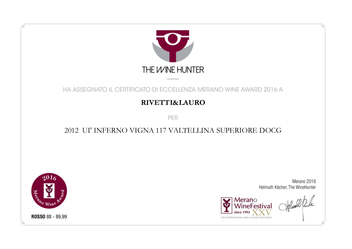 Merano Wine Awards 2016